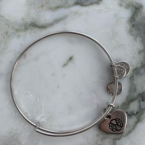 ALEX AND ANI path of life energy silver bracelet
